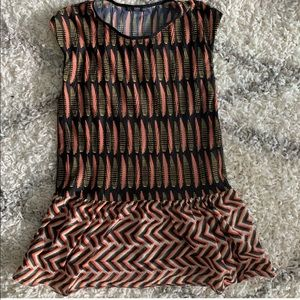 NWOT Zara Tunic Top